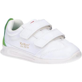 Chaussures Enfant Multisport Kickers 686291-10 KICK 18 BB VLC Blanco
