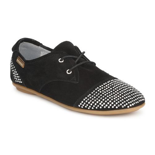 Chaussures Femme Derbies Pataugas SWING Noir