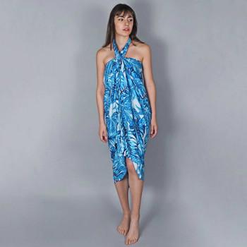 Vêtements Femme Paréos Baisers Salés Paréo Batik Bambus Turquoise