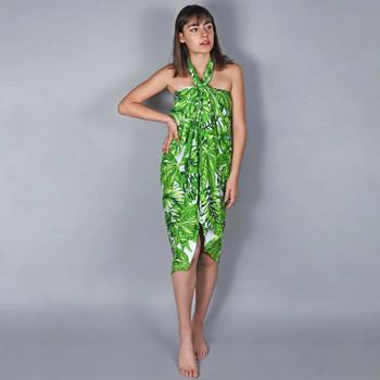 Vêtements Femme Paréos Baisers Salés Paréo Batik Bambus Vert
