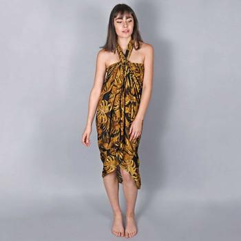 Vêtements Femme Paréos Baisers Salés Paréo Batik Bambus Marron