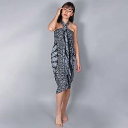 Vêtements Femme Paréos Baisers Salés Paréo Batik Mandala Gris