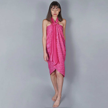 Vêtements Femme Paréos Baisers Salés Paréo Batik Mandala Fuchsia