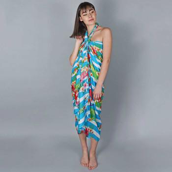 Vêtements Femme Paréos Baisers Salés Paréo Batik Azur