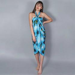 Vêtements Femme Paréos Baisers Salés Paréo Batik Pavao Turquoise