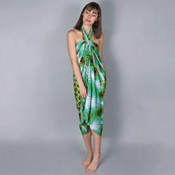 Vêtements Femme Paréos Baisers Salés Paréo Batik Pavao Vert