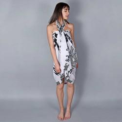 Vêtements Femme Paréos Baisers Salés Paréo Batik Ethnik Blanc