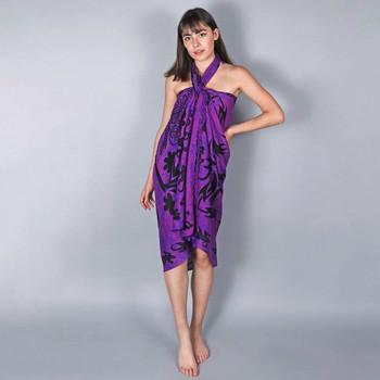 Vêtements Femme Paréos Baisers Salés Paréo Batik Ethnik Violet
