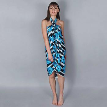 Vêtements Femme Paréos Baisers Salés Paréo Batik Exotica Bleu