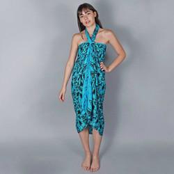 Vêtements Femme Paréos Baisers Salés Paréo Batik Lotus Bleu