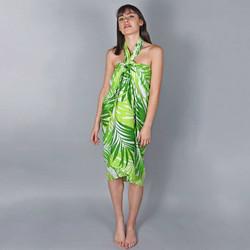 Vêtements Femme Paréos Baisers Salés Paréo Batik Savana Vert