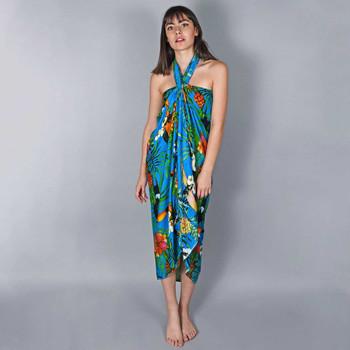 Vêtements Femme Paréos Baisers Salés Paréo Batik Belize Blanc
