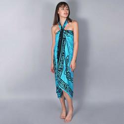 Vêtements Femme Paréos Baisers Salés Paréo Batik Bali Turquoise