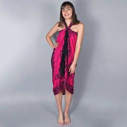 Vêtements Femme Paréos Baisers Salés Paréo Batik Bali Fuchsia