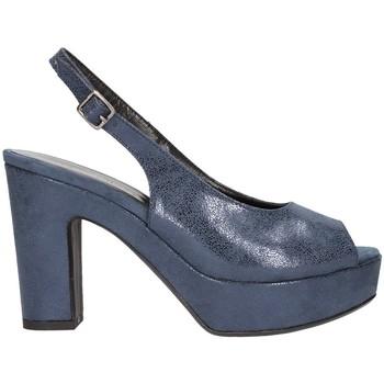 Chaussures Femme Sandales et Nu-pieds Martina B 19-159-nv santal Femme Bleu Bleu