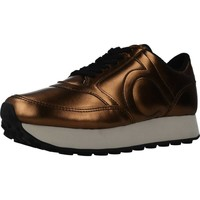 Chaussures Femme Baskets mode Duuo PRISA HIGH 001 D´or