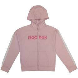 Vêtements Enfant Sweats Reebok Sport Sweat Zippé Enfant  Sweat Zippe Fille Rose