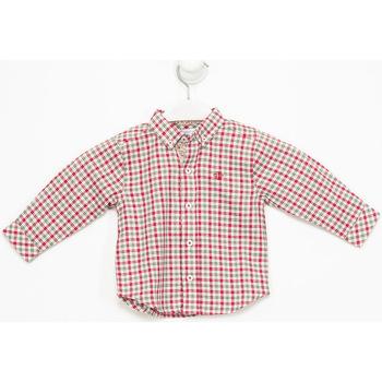 Vêtements Fille Chemises manches longues Tutto Piccolo Chemise longue Multicolore