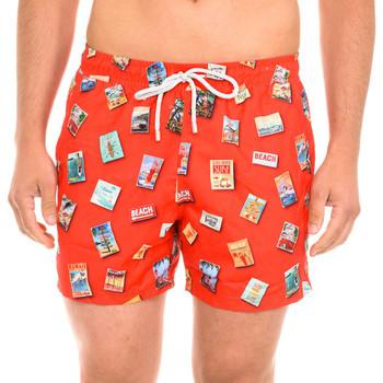Vêtements Homme Maillots / Shorts de bain John Frank Maillot de bain Rouge