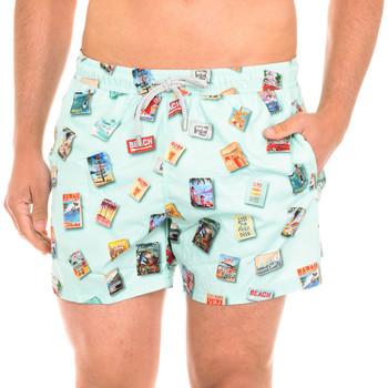 Vêtements Homme Maillots / Shorts de bain John Frank Maillot de bain Vert