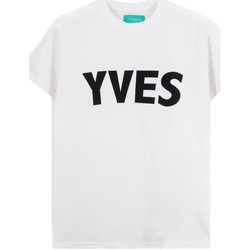 Vêtements Homme T-shirts manches courtes Backsideclub T-shirt Yves blanc  BSCTH 107 YVES WHT Blanc