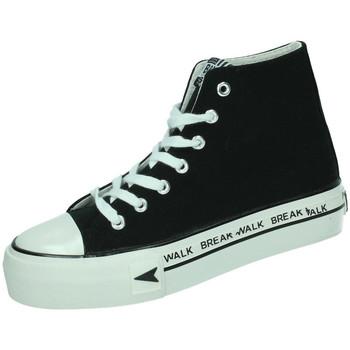 Chaussures Femme Baskets montantes B&w  Noir