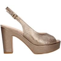 Chaussures Femme Sandales et Nu-pieds Martina B 19-159-nv santal Femme Bronze Bronze
