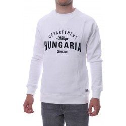 Vêtements Homme Sweats Hungaria H-16TLMOEOLE Blanc