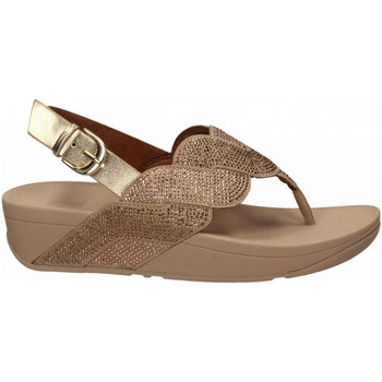 Chaussures Femme Tongs FitFlop PAISLEY ROPE BACK STRAP platino