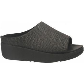 Chaussures Femme Conditions des offres en cours FitFlop IMOGEN BASKET WAVE SLIDE black