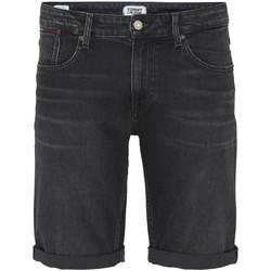 Vêtements Homme Shorts / Bermudas Tommy Jeans Short relaxed  ref_49144 Black noir