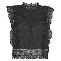 Vêtements Femme Tops / Blouses Only ONLKARO Noir