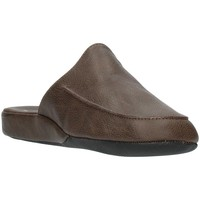 Chaussures Homme Mules Clia Walk HOME116 marron