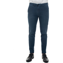 Vêtements Homme Chinos / Carrots Fay NTM8640187L-RWPU604 denim medio