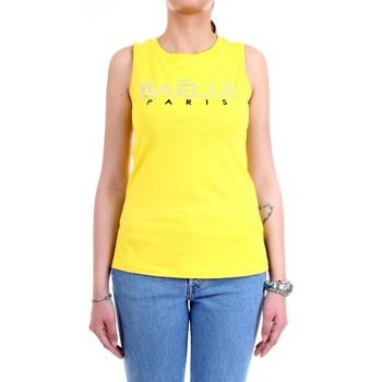 Vêtements Femme Débardeurs / T-shirts sans manche GaËlle Paris GBD6061 Jaune