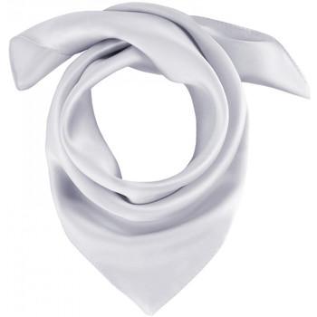 Accessoires textile Femme Echarpes / Etoles / Foulards Allée Du Foulard Carré de soie Piccolo uni Argent