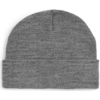 Accessoires textile Bonnets Chapeau-Tendance Bonnet uni BERNE gris