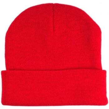 Accessoires textile Bonnets Chapeau-Tendance Bonnet uni BERNE Rouge