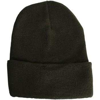Accessoires textile Bonnets Chapeau-Tendance Bonnet uni BERNE Vert kaki