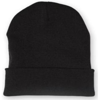 Accessoires textile Bonnets Chapeau-Tendance Bonnet uni BERNE Noir