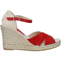 Chaussures Femme Espadrilles Ska 201 BERRY ROUGE