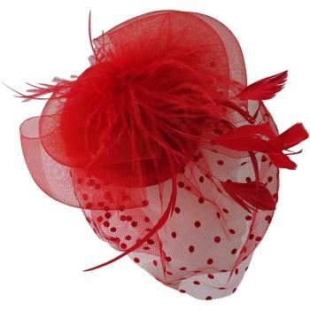 Accessoires textile Femme Chapeaux Chapeau-Tendance Bibi ELIANA Rouge