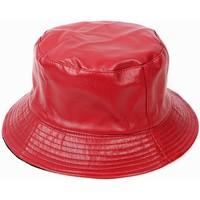 Accessoires textile Femme Chapeaux Chapeau-Tendance Bob de pluie FEEDYS Rouge foncé