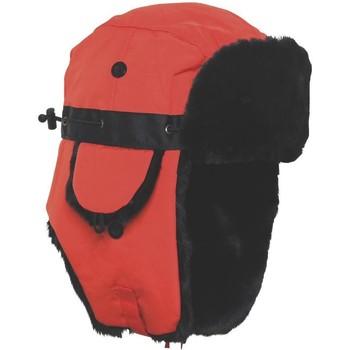 Accessoires textile Bonnets Chapeau-Tendance Chapka GALLIVARE Orange