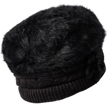 Accessoires textile Femme Bonnets Chapeau-Tendance Béret doux MADISON noir