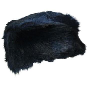 Accessoires textile Femme Bonnets Chapeau-Tendance Toque fausse fourrure LUCERNE Bleu