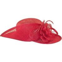 Accessoires textile Femme Chapeaux Chapeau-Tendance Chapeau de cérémonie MONA LISA Rouge
