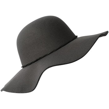 Accessoires textile Femme Chapeaux Chapeau-Tendance Chapeau capeline ANIA Gris