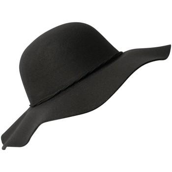 Accessoires textile Femme Chapeaux Chapeau-Tendance Chapeau capeline ANIA Noir