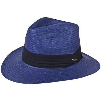 Accessoires textile Chapeaux Chapeau-Tendance Chapeau style panama WILL Bleu
